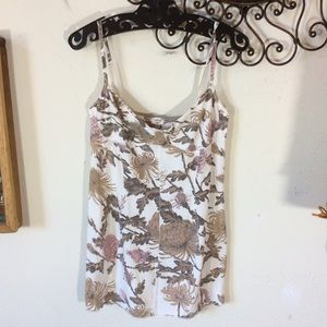 Wilfred from Aritzia Floral fall bouquet tank